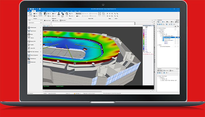 iBwave Design R12 stadium