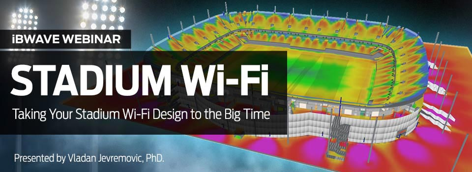 Taking your stadium Wi-Fi design to the big time