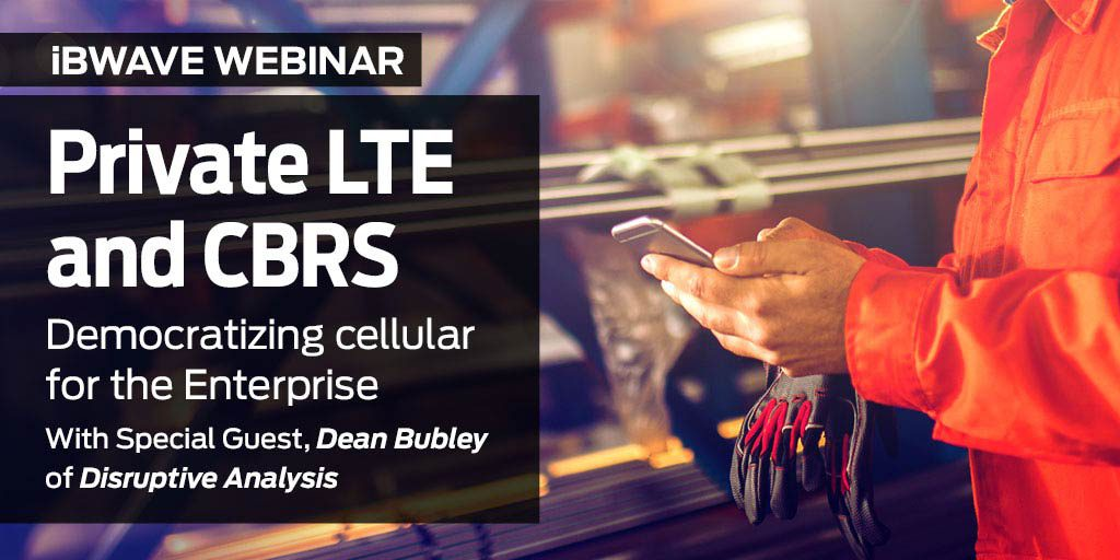 Private LTE and CBRS - Democratizing cellular for the Enterprise