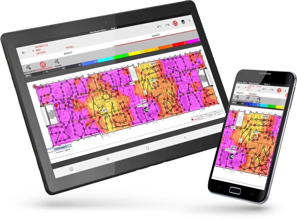 iBwave Mobile Survey app