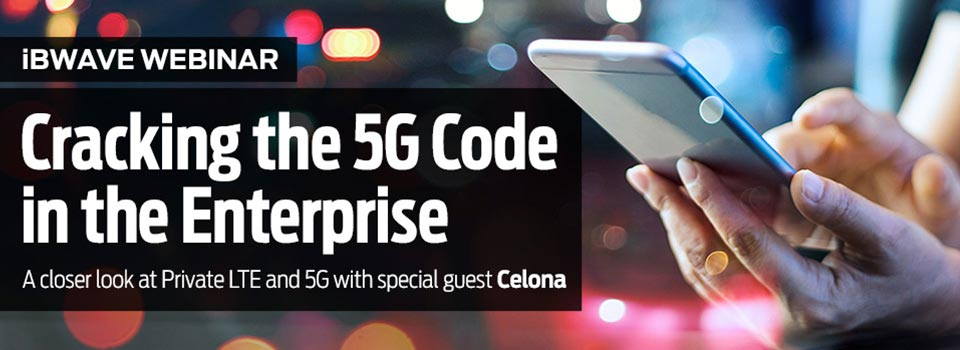 Cracking the 5G code in the Enterprise
