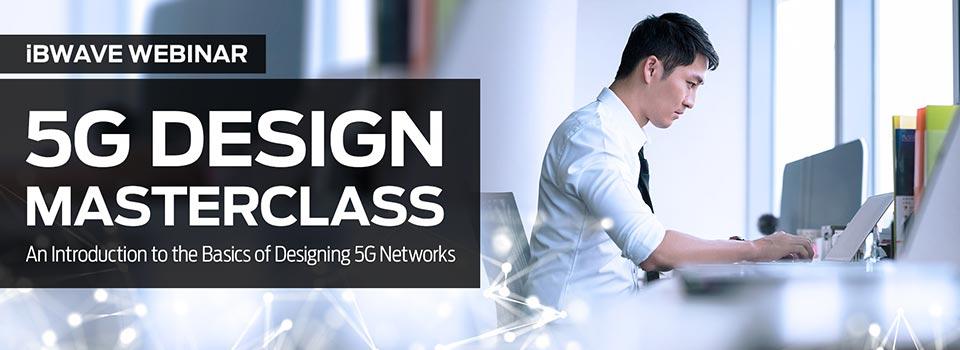5G Design Masterclass webinar banner